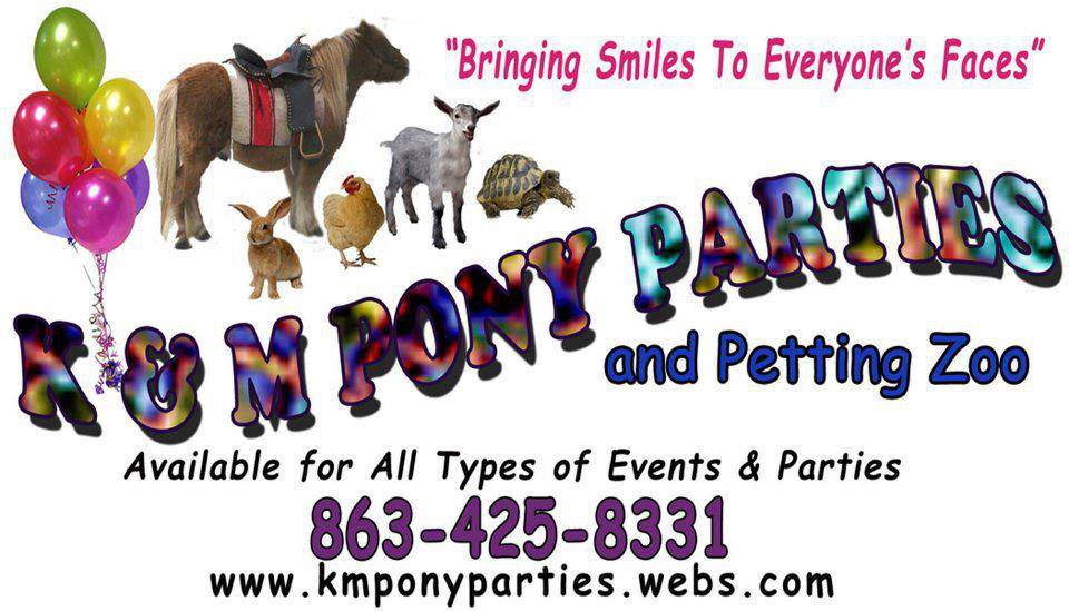 K M Pony Parties And Petting Zoo Lakeland Mom