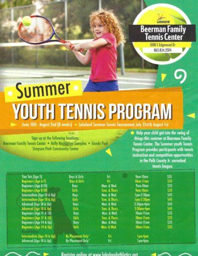 Beerman Lakeland Summer Tennis Lessons 2019.jpg