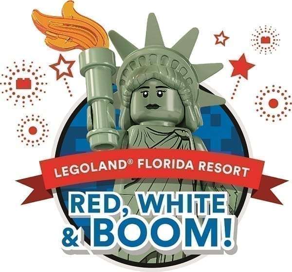 Legoland Red White Boom 4th of July Fireworks