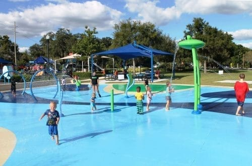 Splash Pad Trailhead Park Winter Haven