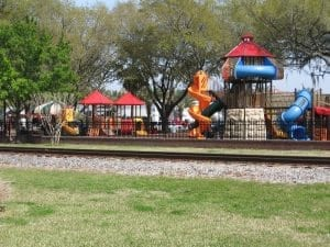 Auburndale City Park Playground Downtown