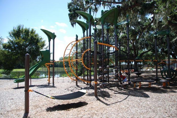 Fletcher Park Lakeland Playground