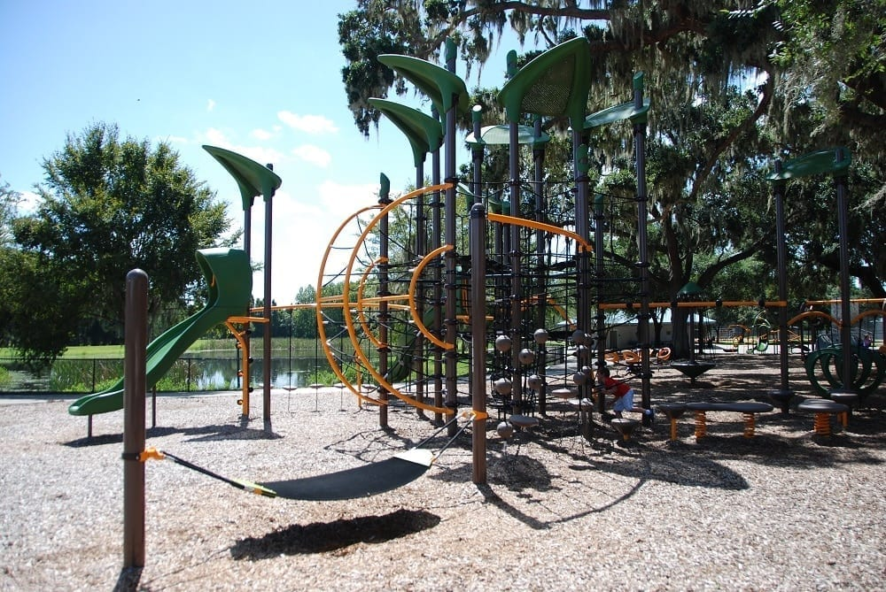 Fletcher Park Lake Bonny Lakeland Playgrounds