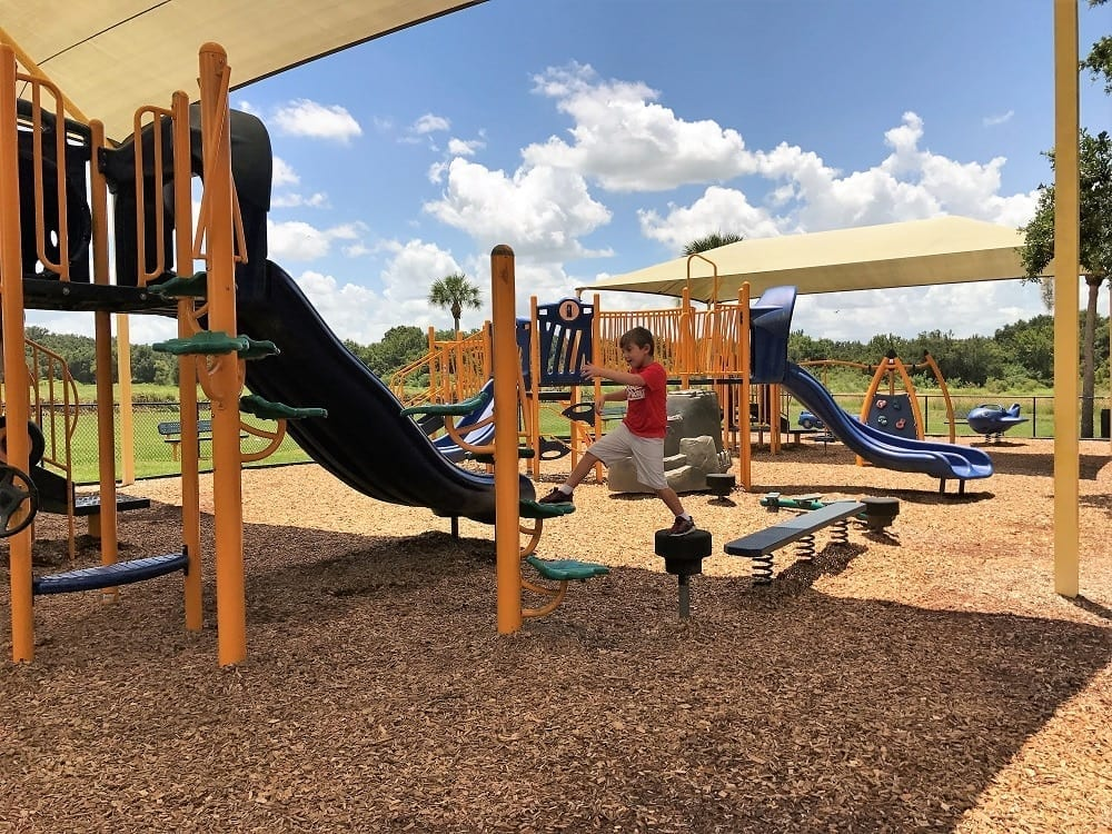 Loyce Harpe Park Playgrounds in Lakeland
