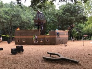 Rotary Playground Lake Parker Lakeland Pirate Ship