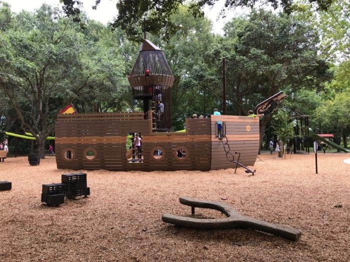Rotary Playground Lake Parker Lakeland Pirate Ship