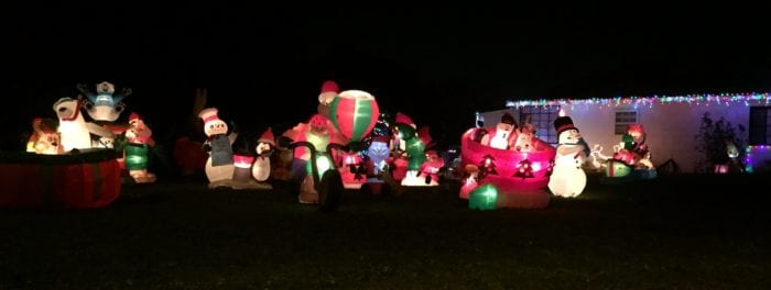 Christmas Lights in Lakeland