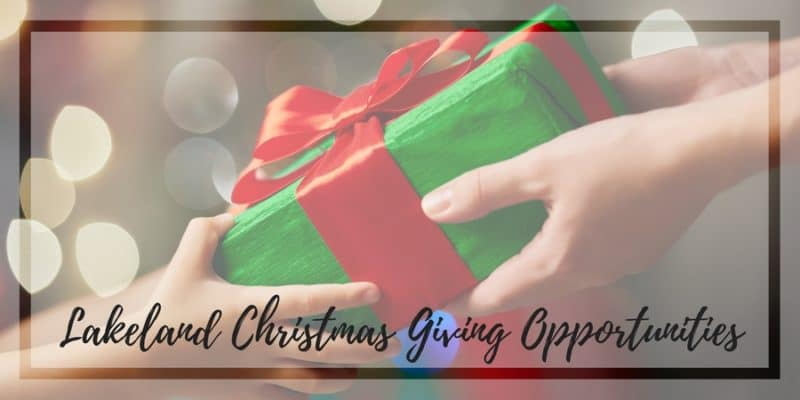 Lakeland Area Christmas Giving Opportunities