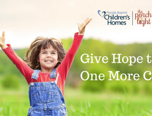 Lakeland Gives Back: Florida Baptist Children's Homes, The Porch Light & Orphan's Heart