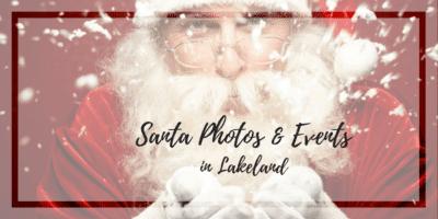 Santa photos in Lakeland