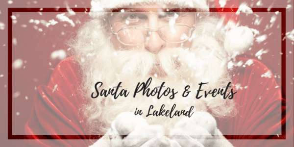 Santa photos in Lakeland