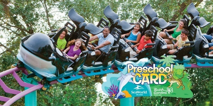 Seaworld Busch Gardens Preschool Pass Free Admission