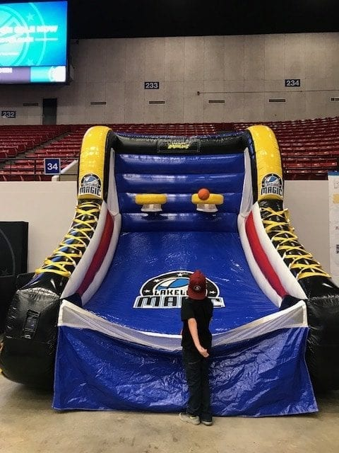 Lakeland Magic Basketball Swish Lakeland Mom