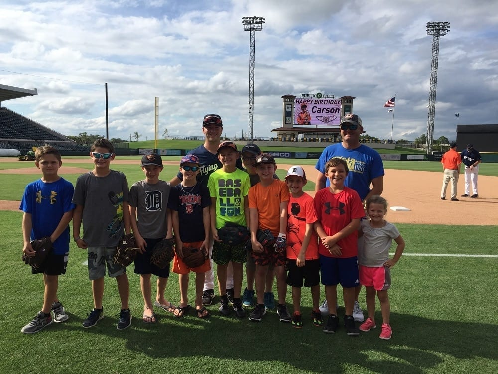 Lakeland Flying Tigers Game Birthday Party