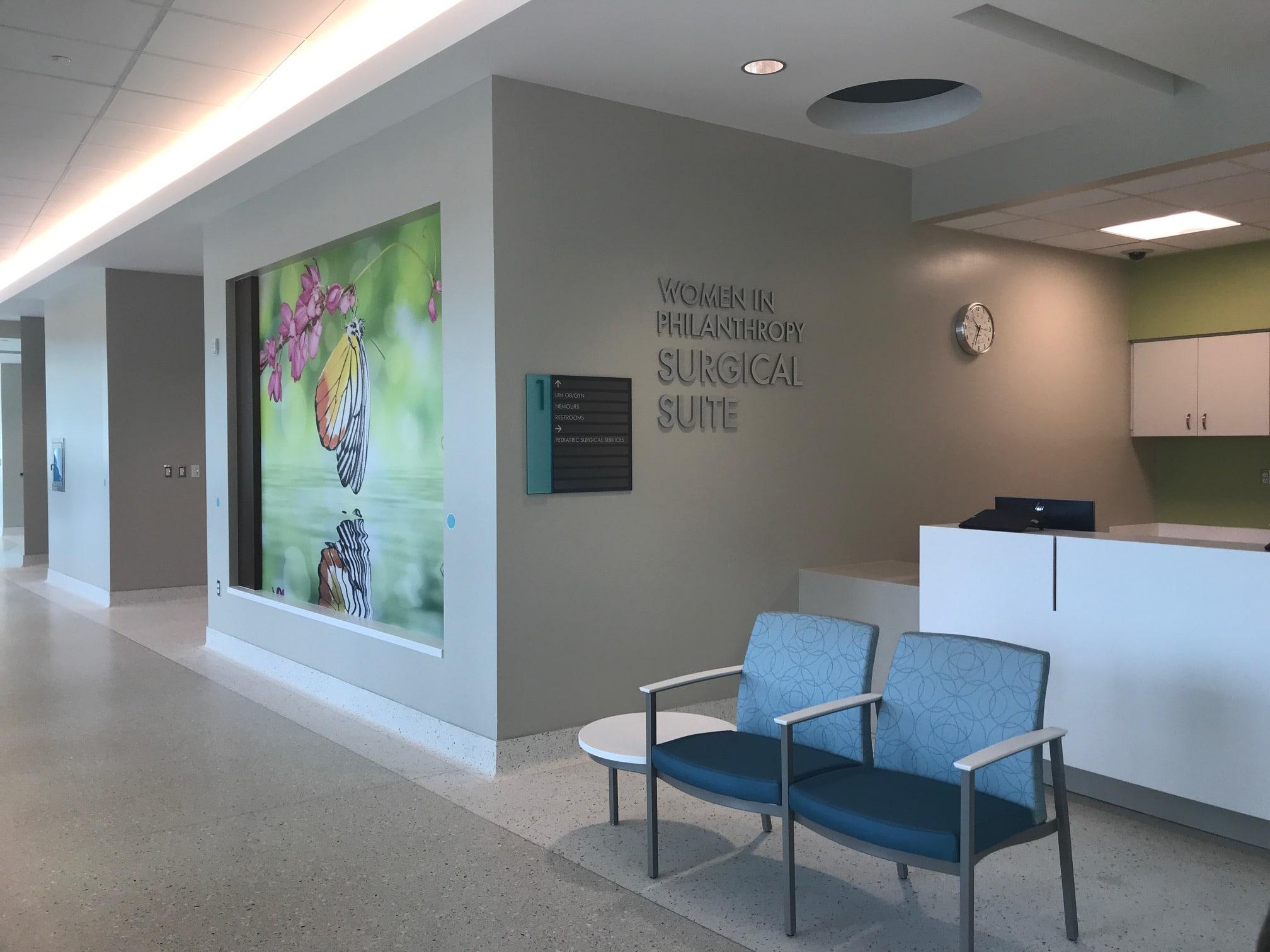 Carol Jenkins Barnett Pavilion for Women & Children at