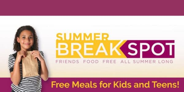 Summer Break Spot Free Meals