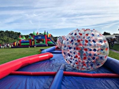 Lakeland inflatables bounce house water slide rentals