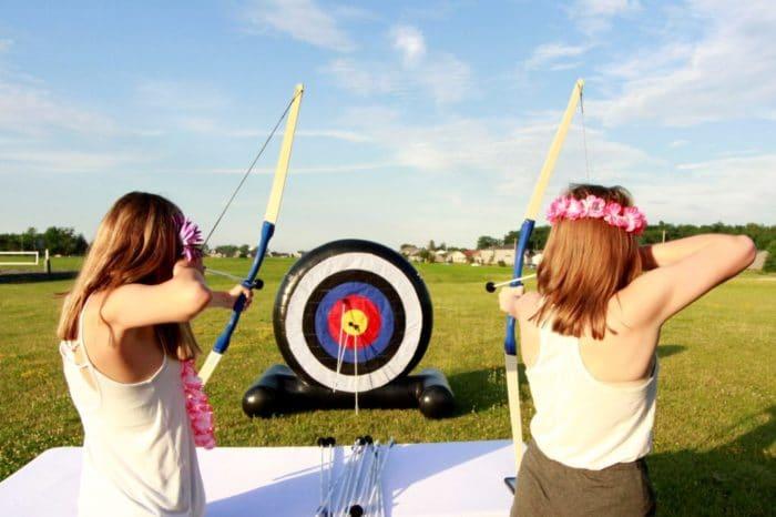 Fat Chihuahua Entertainment Lakeland Birthday Party Archery
