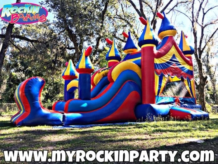 Rockin Bouncies Water Inflatable Bounce House