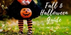 Lakeland Fall Halloween Events Activities for Kids
