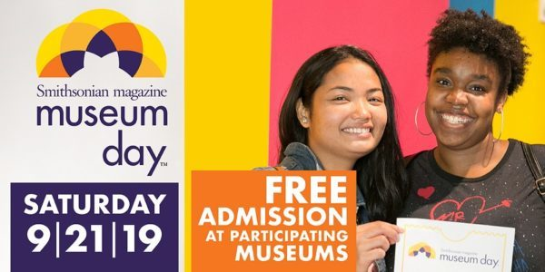 Smithsonian Museum Day 2019 Free Admission