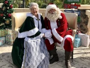 Lakeland Pictures with Santa