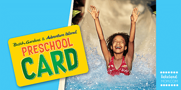 Busch Gardens Preschool Pass - FREE Admission for ages 5 & Under in 2019