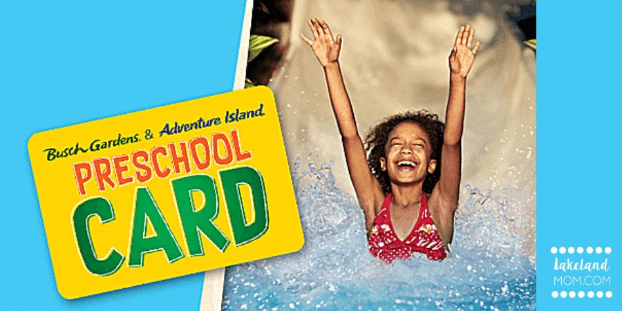 Busch Gardens & Adventure Island Preschool Pass - FREE Admission for ages 5 & Under in 2020