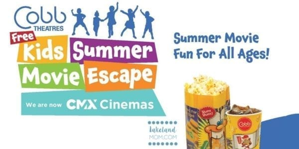 Cobb Free Summer Movies 2020