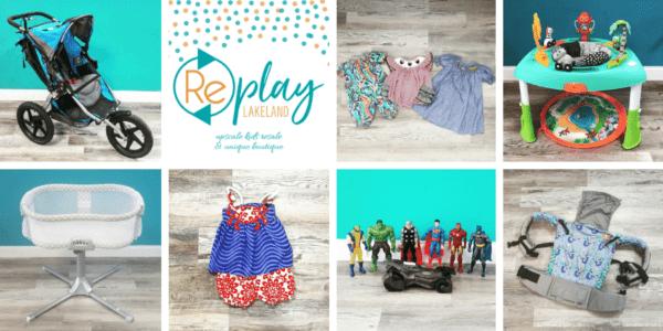 Replay Lakeland Baby Kids Consignment Store