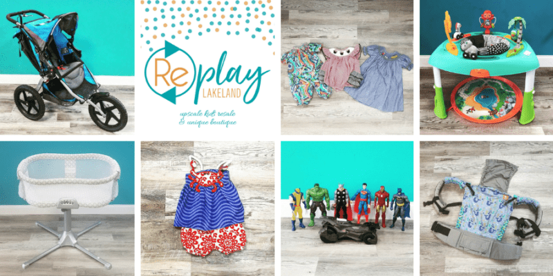 Replay Lakeland Baby Kids Consignment Store