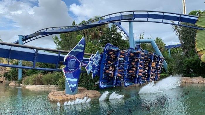 SeaWorld Orlando roller coasters