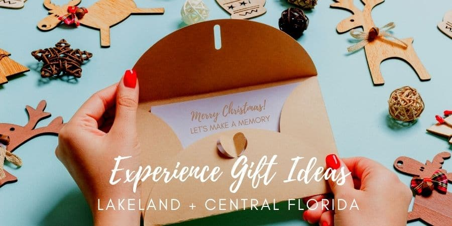 Experience Gift Ideas Annual Passes Lakeland Central Florida