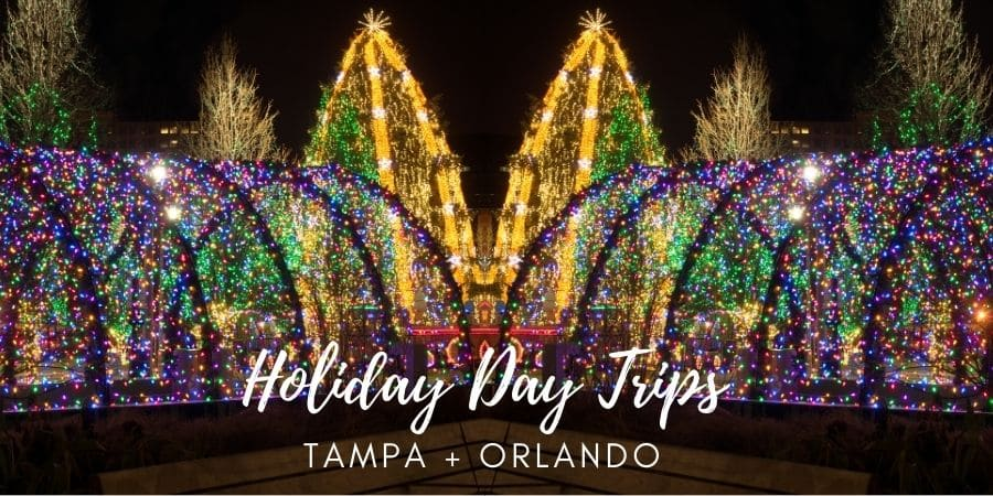 Holiday Day Trips Tampa Orlando Christmas Activities