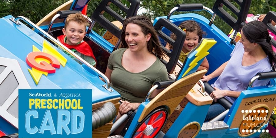 SeaWorld & Aquatica Preschool Pass – FREE Admission for ages 5 & Under in 2021