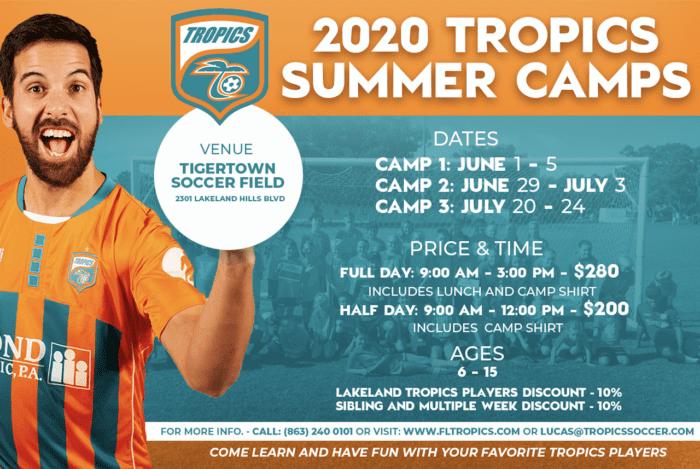 2020 Tropics Summer Camps