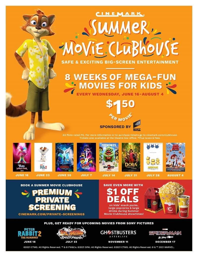 Cinemark Summer Movie Clubhouse 2021 (1)