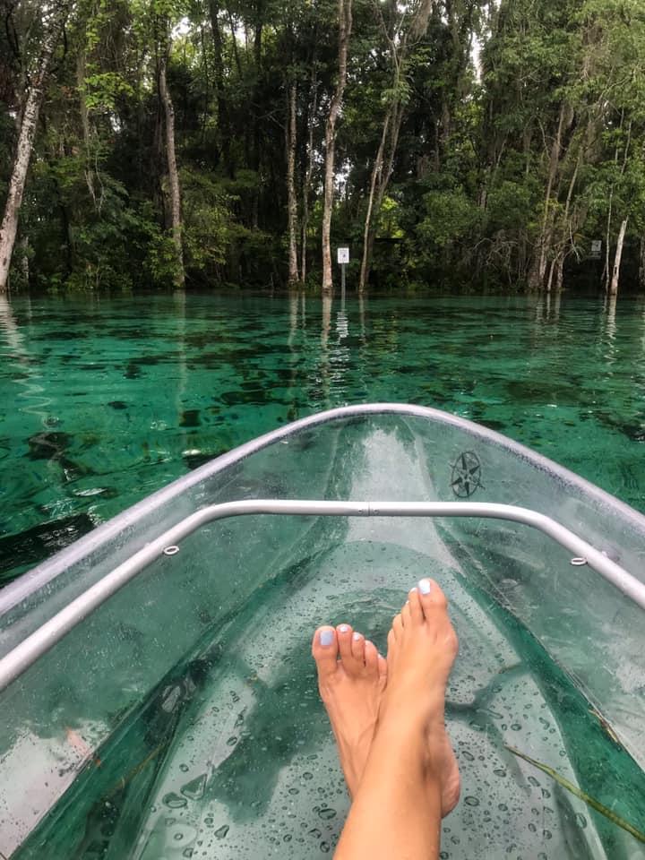 Clear Kayak Crystal River