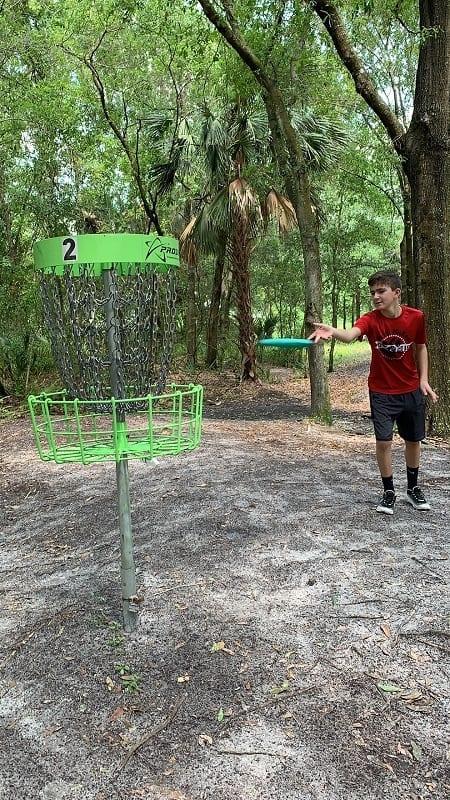 Outdoor Activities in Lakeland Frisbee Golf
