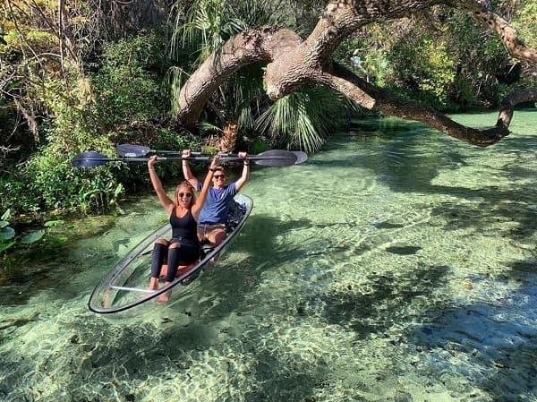 Clear Kayak Tour Florida