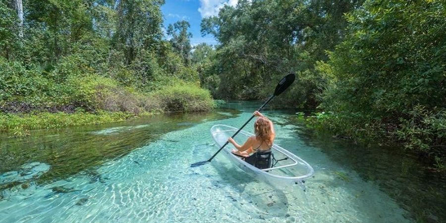Clear Kayak Tour Florida