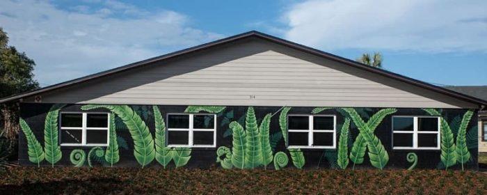 Fern Mural Lakeland FL (1)