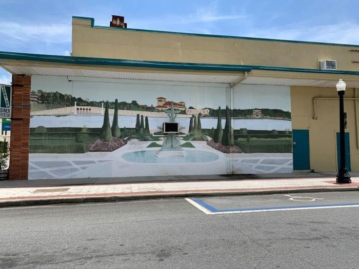 Lakeland Murals Downtown Lakeland Diner