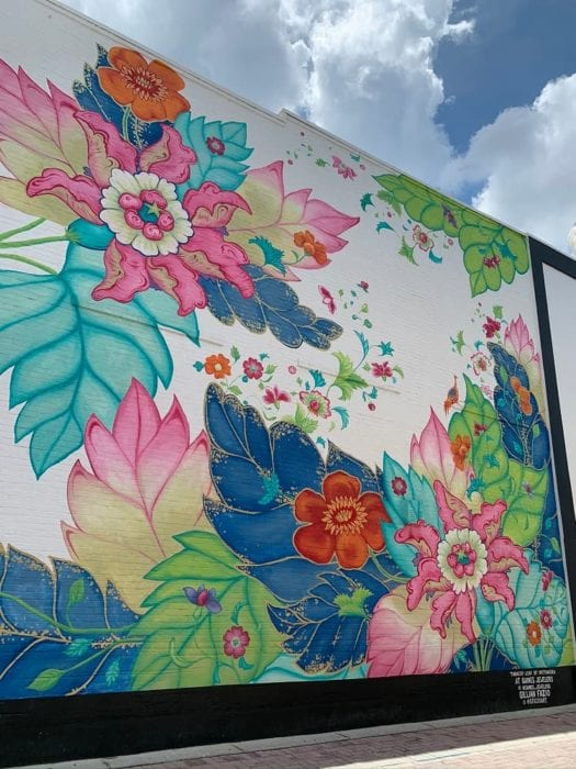 Lakeland Murals Gaines Jewelers Gillian Fazio Flowers