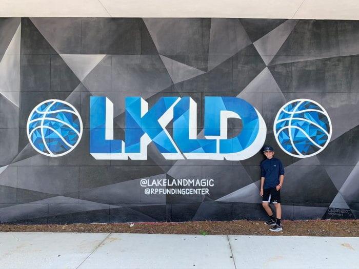 Lakeland Murals Lakeland Magic RP Funding Center