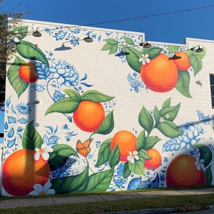 Lakeland Murals Mass Market Oranges