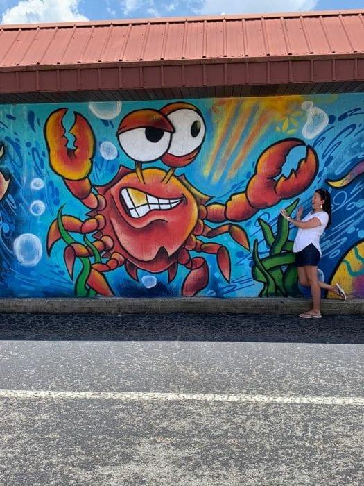 Lakeland Murals Red Crab Gaslight Tattoo