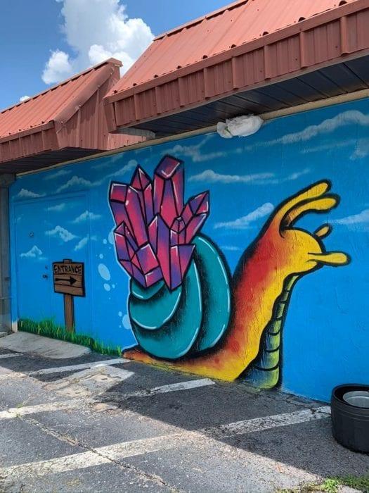 Lakeland Murals Snail Gaslight Tattoo