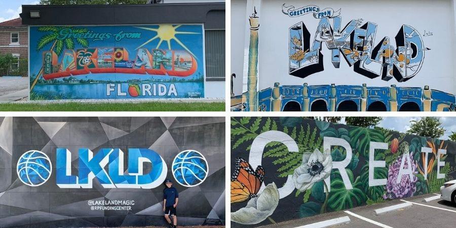 Murals in Lakeland, FL