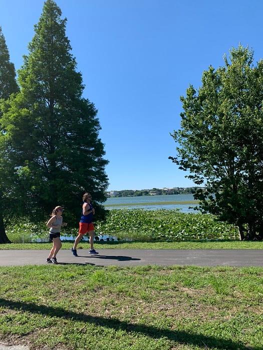 Lake Hollingsworth Walking Path Lakeland (2)